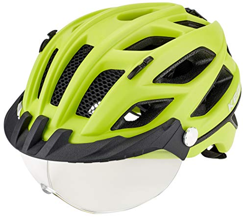 KED Covis Lite Helm Yellow matt Kopfumfang L | 55-61cm 2020 Fahrradhelm