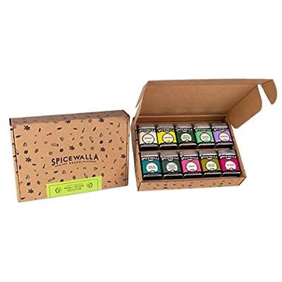 Spicewalla Middle Eastern Spices Set 10 Pack | Ras El Hanout, Harissa Spice, Zataar, Berbere, Turmeric Powder | Lebanese, Mediterranean, Moroccan Spice Blend Seasonings