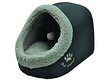 VADIGRAN Mobilier pour Chien Igloo Coffee Oxford 45 X 36 X 35 cm