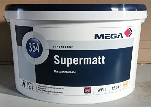Mega Supermatt 12,5 Liter weiss Farbe Wandfarbe Innenfarbe