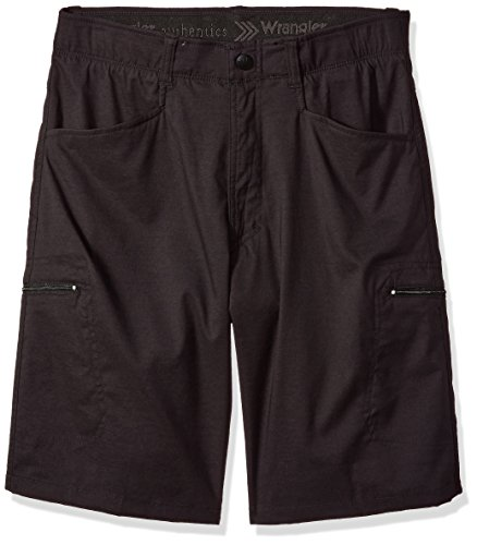 Wrangler Authentics Men's Performance Comfort Flex Cargo Short, black, 38