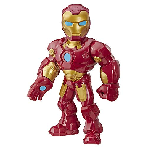 Playskool Heroes- Mega Mighties Avengers Iron Man, Multicolor (Hasbro E4150ES0)
