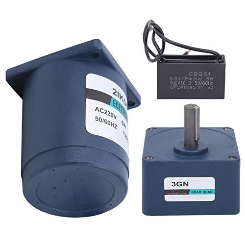 CA Motor, Fácil para Instalar en pc Techo Ventilador Condensador 6W con Metal AC200V