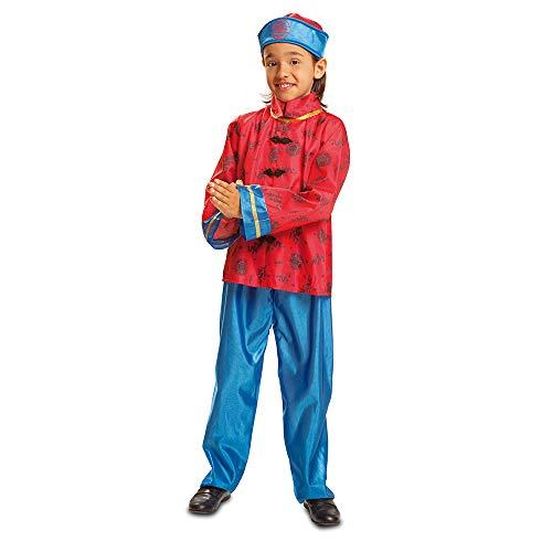 Dress Up America Chinese Boy Costume Kostüme, Herren, Mehrfarbig Einzigartige Größe