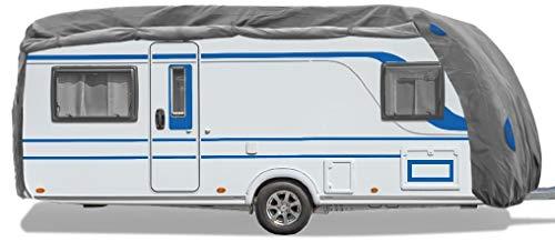 Bestcount Schutzhülle für Wohnwagen, Caravan Abdeckung in der Größe M (Länge x Breite x Höhe) 550x250x220cm