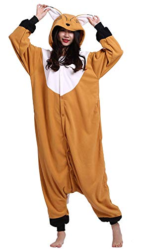 Pyjama Tier Cosplay Panda Animal Waschbär Cartoonstil Plüsch für Damen Herren