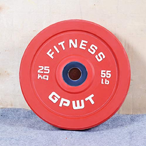 Elite Corps Wholesale GPWT Fitness (Brand) Bumper Plates (25)