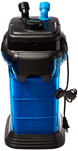 Penn Plax Cascade CCF3UL Canister Filter For Large Aquariums and Fish Tanks – Up To 100 Gallons, Filters 265 GPH