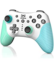 Wireless Pro Controller for Switch/Switch Lite, Switch Remote Gamepad with Wake-up, 3-Level Vibration, Turbo, Motion Control Function, 600mAh Battery Wireless Switch Controller