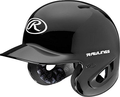 Rawlings 90 MPH College/High School Batting Helmet, Black, Large