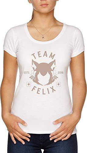 Team Felix Camiseta Mujer Blanco