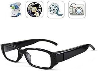 FiveSky 720P - Microcámaras espía de vídeo Gafas Eyewear Mini DV con función de Audio