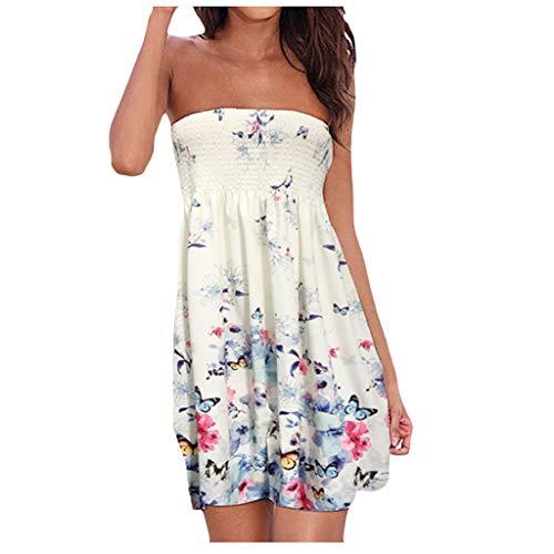 %61 OFF! Litetao L White 830304 (Women's Long Sleeve Pocket Casual Loose T-Shirt Dress Summer Tunic ...