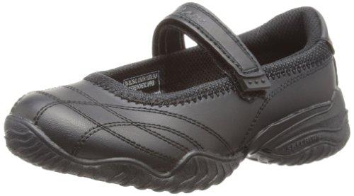 Skechers Girls Velocity Pouty Ballet Flats 81264L Black 4 UK Child, 37 EU