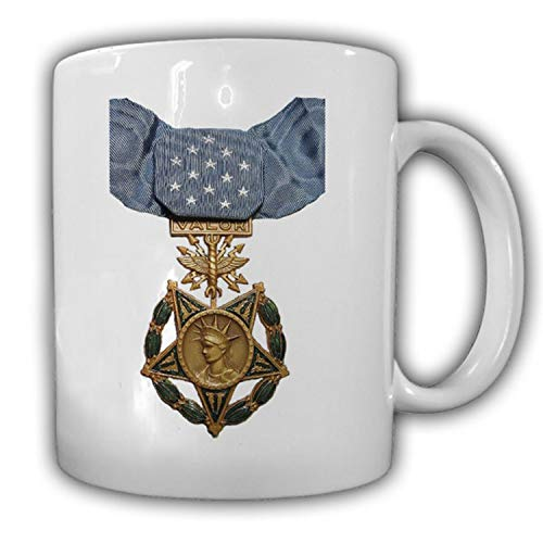 Medal of Honor Air Force USAF USA Orden amerikanische Ehrenmedaille Tasse #15356
