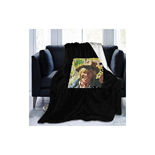 """Coperta in pile con scritta """"John Denver"""", per letto e divano"""