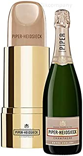 Piper Heidsieck Champagner Nude, Demi - Sec Champagne, weiss 0,75l 12% Vol Lipstick Edition - Enthält Sulfite