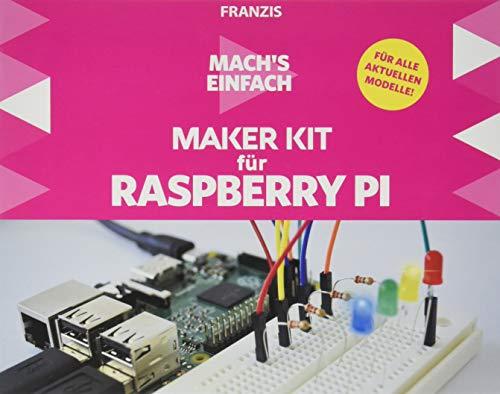 Franzis Mach\'s einfach: Maker Kit für Raspberry Pi | Keine Vorkenntnisse nötig! | Ab 14 Jahren