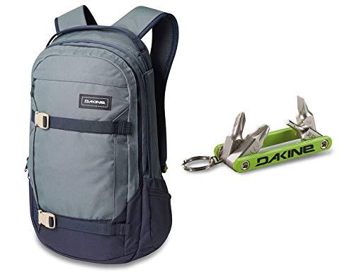 Dakine Mission Backpack (25L) & Dakine Fidget Tool Bundle (Dark Slate)