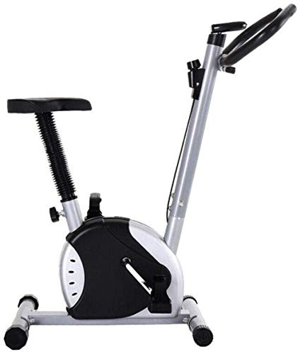Indoor Spin Bike Indoor Hometrainer Stationaire Cyclus Upright Compact Magnetische Upright met LCD Monitor Perfect Home Oefenmachine voor Cardio dsfhsfd(Upgrade)