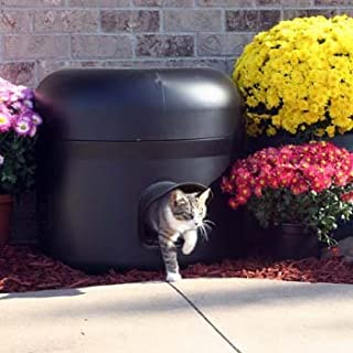 Kitty Tube The Outdoor Insulated Cat House - Feral Option w/Straw & Double Insulated Liner