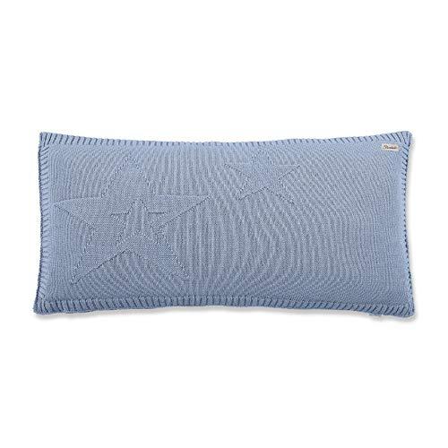Sterntaler Strick-Schmusekissen Baylee, Alter: Für Babys ab der Geburt, 30 x 60 x 10 cm, Blau