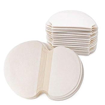 Gospire 50 pcs  25 Pair  Disposable Underarm Pads Armpit Sweat Pads Perspiration Pads Shield Absorbing Anti Perspiration Odor Sheet for Women