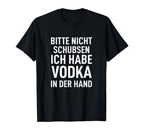 Rucksack Bitte nicht schubsen ich habe Vodka in der Hand T-Shirt