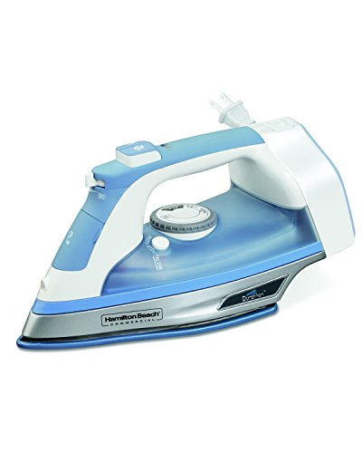 Hamilton Beach Commercial HIR750 Durathon Iron with Soleplate Full-Size, Blue