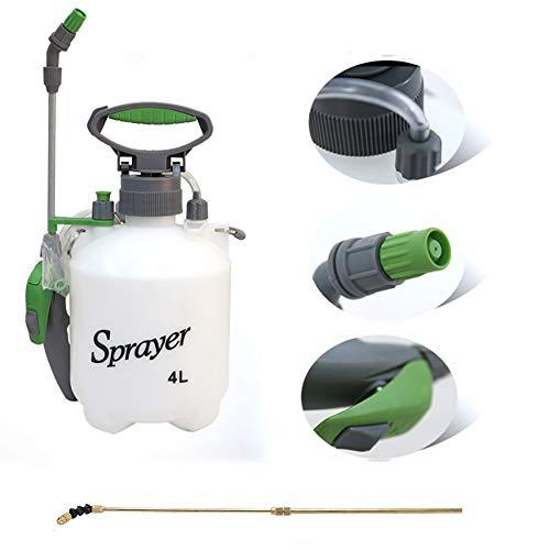 Pulverizadores Pulverizador De Compresión Manual De 4L con Correa para El Hombro para Fertilizantes, Herbicidas Y Pesticidas (Hay Varias Barras De Pulverización Disponibles)