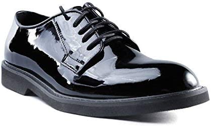 Ridge Footwear 7001 Men's Uniform Oxford Lite High-Gloss Oxford Shoes
