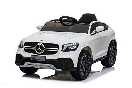 TOYSCAR electronic way to drive Auto Macchina Elettrica per Bambini 12V Mercedes GLC Coupè Concept con Telecomando