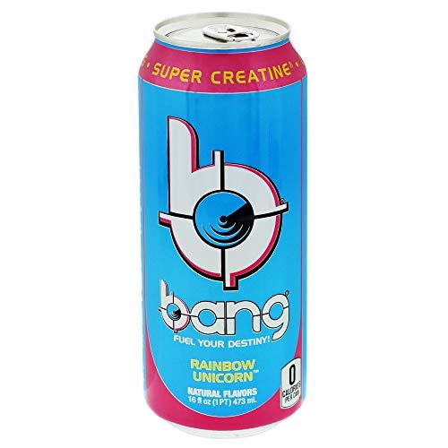 Bang Energy Bang Rainbow Unicorn 16oz Single, 16 Fl Oz