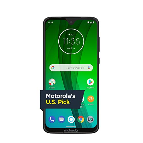 Moto G7 with Alexa Hands-Free – Unlocked – 64 GB – Clear...