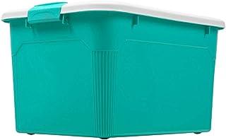 Corbeilles à linge Paniers à Linge La boîte de Rangement en Plastique de Panier de Rangement vêtx la boîte 57 * 43 * 32.5c...