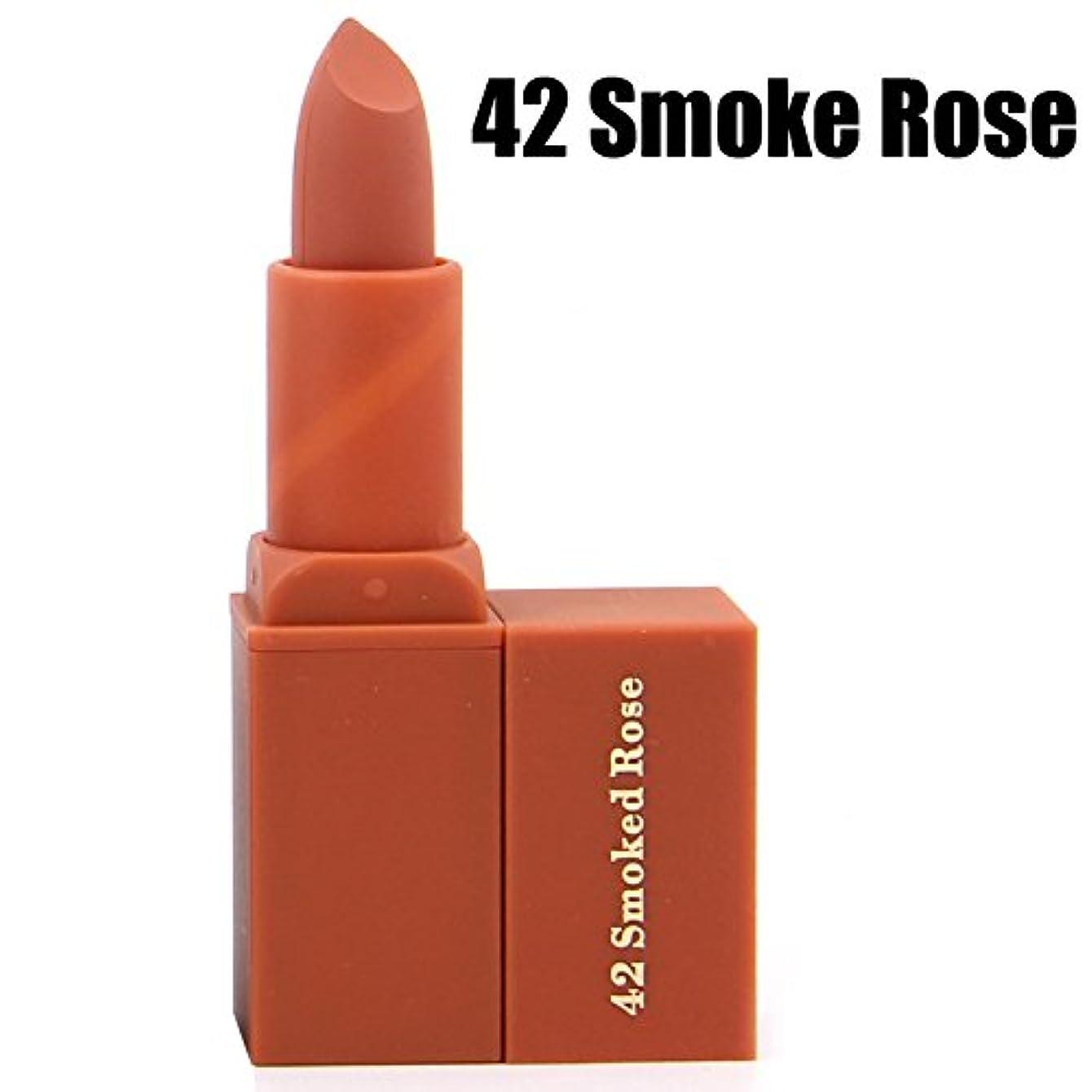 腫瘍ストライクフラッシュのように素早くMiss Rose Vitamin E Moisture lipstick waterproof 7 colors non-smell nude matte lipstick for Pregnant women batom matte MS082