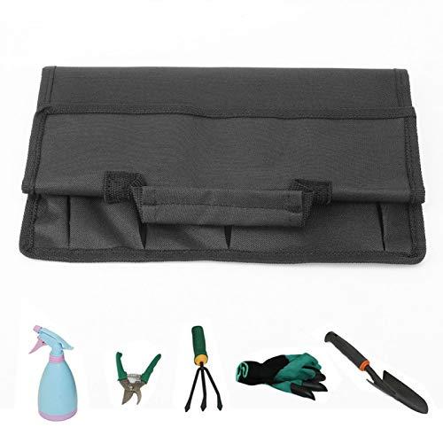 SALUTUYA Bolsa de Almacenamiento de Herramientas compacta Reutilizable Bolsa de Almacenamiento Ligera para Acampar Portaherramientas de jardín Bolsa de Mano Conjunto de(Camping Storage Bag)
