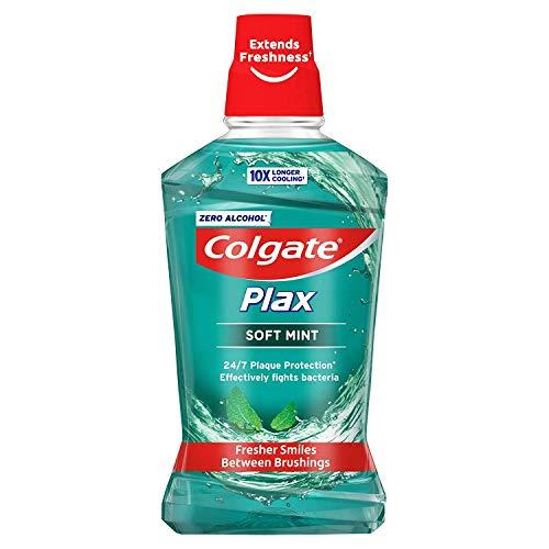 Colgate Plax Soft Mint Alcohol Free Mouthwash, 500 ml