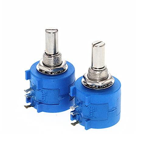 Potenciómetro de giro múltiple de precisión 3590S-2-103L 10K ohmios de giro rotatorio de alambre de precisión potenciómetro para visualización