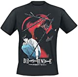Death Note: Chained Notes Black (T-Shirt Unisex Tg. 2XL)