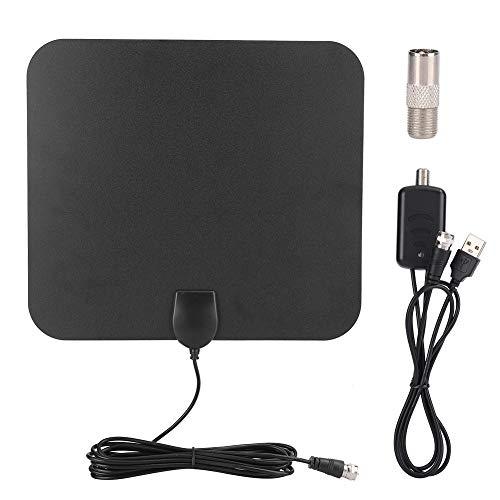 Goshyda Amplificador de señal de Antena de TV, HDTV TV Digital para Interiores Antena de televisión Cable HDMI ATSC con conectividad Fuerte, para TV doméstica Interior