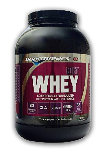 Boditronics Diet Whey Protein Powder, 1.8kg Rich Chocolate
