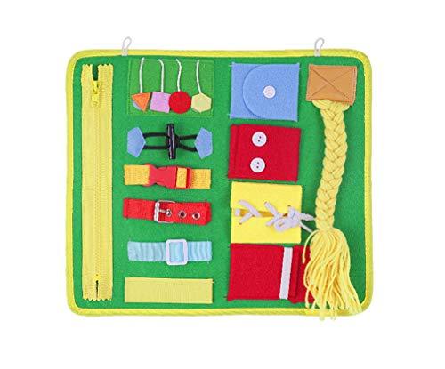 Yx-outdoor Montessori tabla de aprendizaje, desarrollar la concentración de los niños y la capacidad antifrustración, ayuda de enseñanza de la educación de la primera infancia