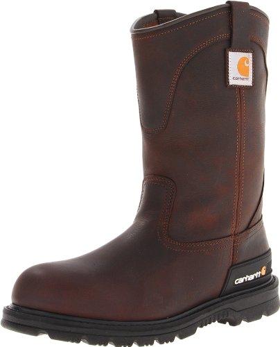 Carhartt Men's CMU1142 Work Boot,Dark Brown Oil Tanned,9.5 W US