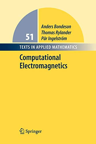 Computational Electromagnetics (Texts in Applied Mathematics)
