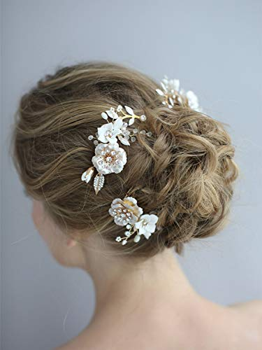 Remedios Starfish Wedding Comb Prom Bridal Bridesmaid Crystal Hairpiece Accessory