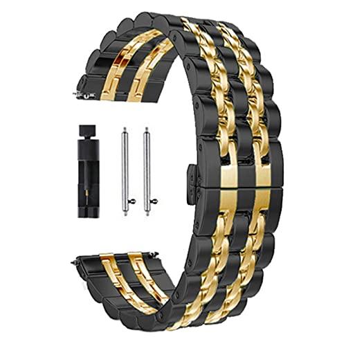 Correa de acero inoxidable para HUAWEI WATCH GT 46mm 4mm GT Pro Band Pulsera para HONOR Magic ES 0mm Mm Correas de reloj de metal