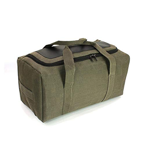 Grote capaciteit Canvas Reisbagage Bag Outdoor Travel Duffle Bag,50l