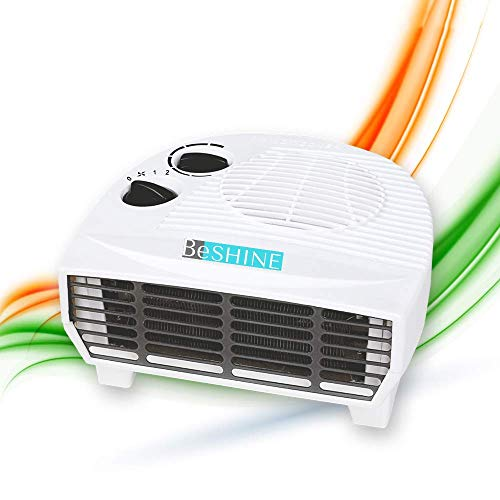 Beshine Electric Heater Handy Room Heater With Overheat Protection 1000-2000watt (FAN HEATER)