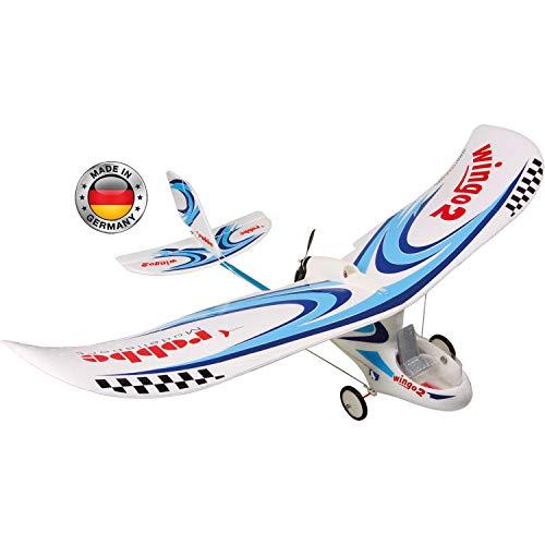ROBBE Wingo 2 PNP You CAN Fly VORMONTIERT MIT BRUSHLESS Motor, REGLER UND SERVO